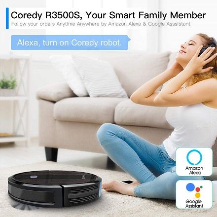 Coredy R3500S robot vacuum cleaner