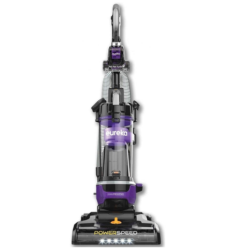 Vacuum Cleaner with pet tool and cordrewind