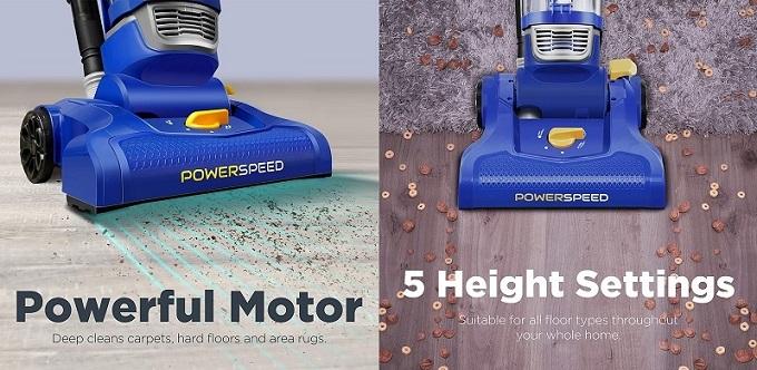 Eureka PowerSpeed Lightweight Upright Vacuum
