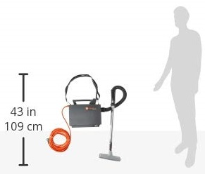Hoover CH30000 vacuum sizing and weight