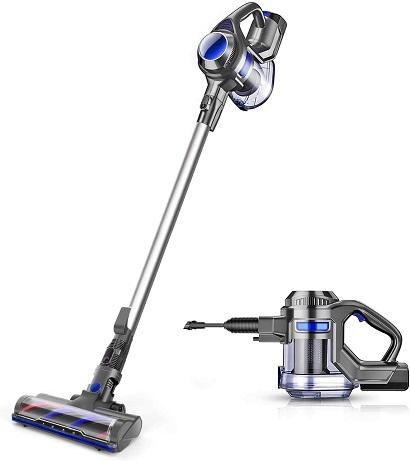 Moosoo Cordless Stick Vacuum