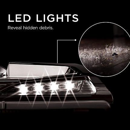 Shark Apex ZS362 LED lights