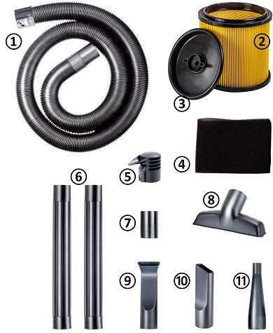 Vacmaster Vacuum Accessories