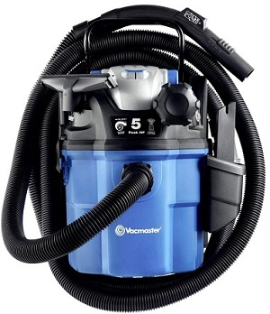 5 Gallon 5 Peak HP Wall Mount Wet Dry Vac